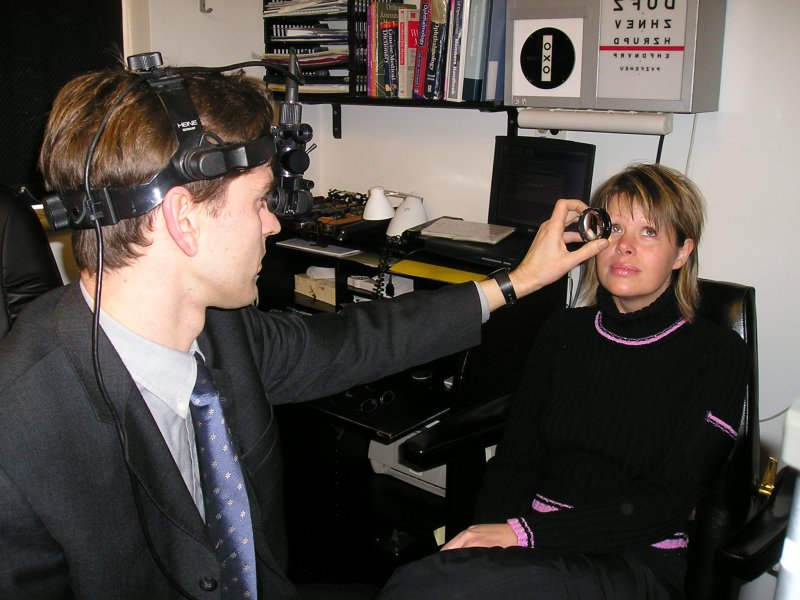 Head Band Indirect Ophthalmoscopy